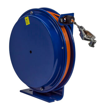 50/' Cable Coxreels SD-50 Spring Rewind Static Discharge Cable Reel
