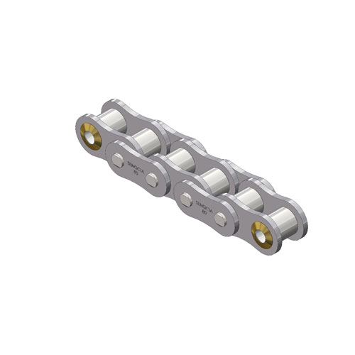 1 Pitch Offset Links G/&G Manufacturing 171-0080 Roller Chain Size: #80